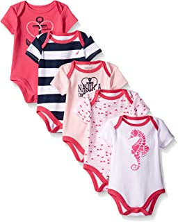 Girls' 5 Pack Bodysuits