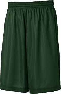 Sport-Tek Youth PosiCharge Mesh Reversible Short Kelly Green YT560