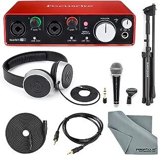 focusrite scarlett 2i2 audio interface 2nd generation