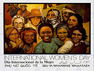 Wee Blue Coo Propaganda Civil Rights Equality Women Day International Unframed Wall Art Print Poster Home Decor Premium