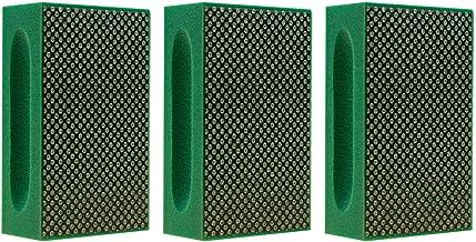 KGS Pro Diamant handschuurblok (set 3 stuks, Groen (korrel 60))