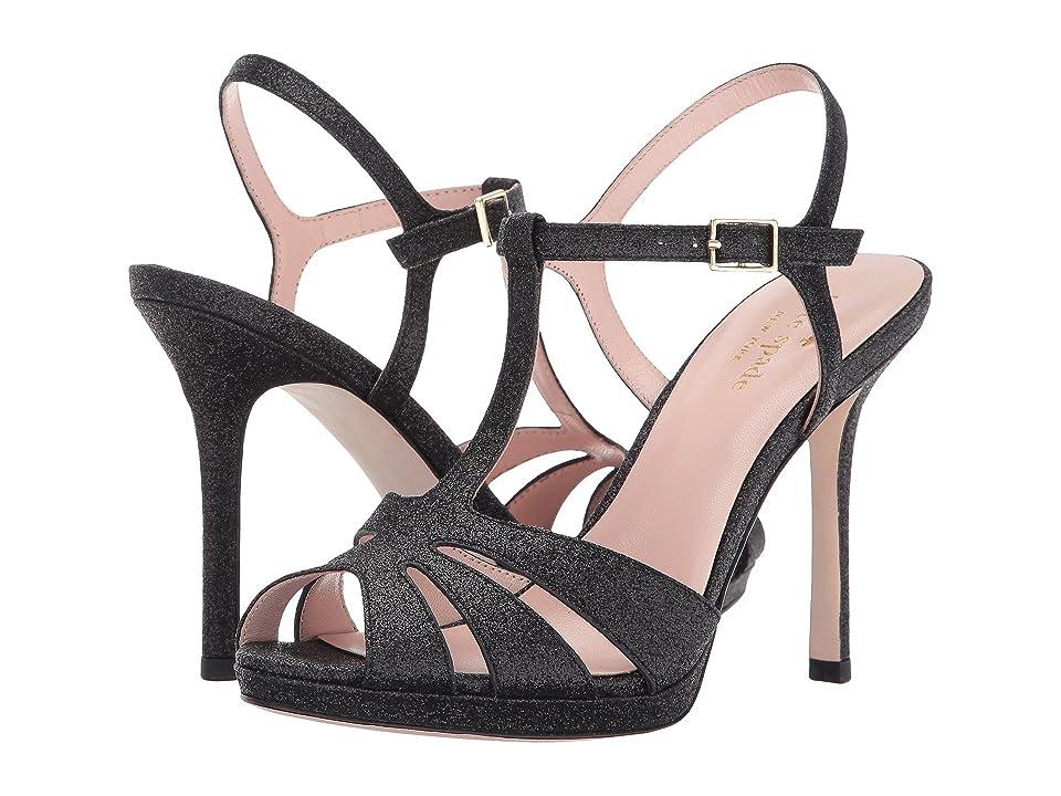 786b47eba1b0 Kate Spade New York Feodora (Black Fine Glitter) Women