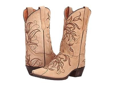 Dan Post Nora (Bone) Cowboy Boots