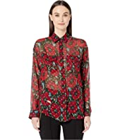 The Kooples - Giant Poppy Shirt