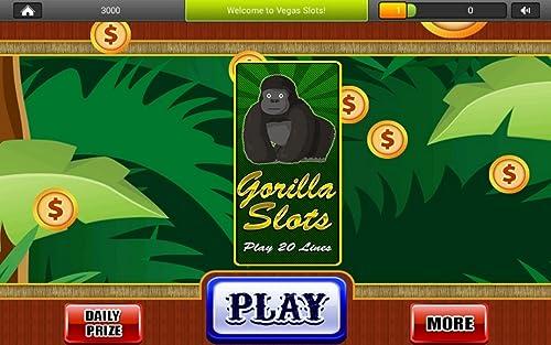 『ゴリラの王国スロット - ラスベガスファンタジースロットマシンゲーム無料プレイ』の4枚目の画像