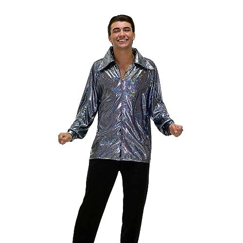 88b97ec192e Forum Novelties Men s 70 s Disco Fever Funkadelic Costume Shirt