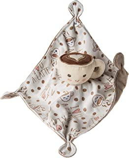 Mary Meyer Soothie Security Blanket, 10 x 10-inches, Sweet Latte