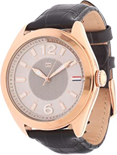 Tommy Hilfiger Rose Gold-Tone Leather Ladies Watch 1781365