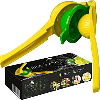 Lemon Squeezer Hend Held Juicer - Citrus Hand Manual Press Juicers Squeeze for Lemon Lime Orange