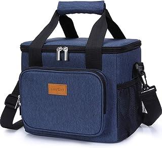 Lifewit Sac Isotherme Lunch Bag, Sac-Glacière Cooler Bag Sac de Repas pour Déjeuner/Travail/Ecole/Plage/Pique-Nique (15L, ...