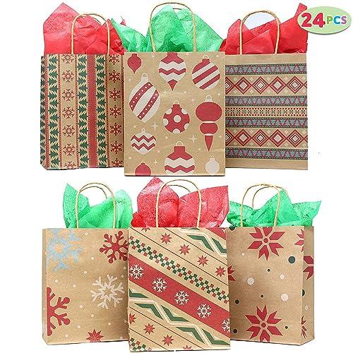 Christmas Gift Bags Bulk.Bulk Christmas Gift Bags Amazon Com