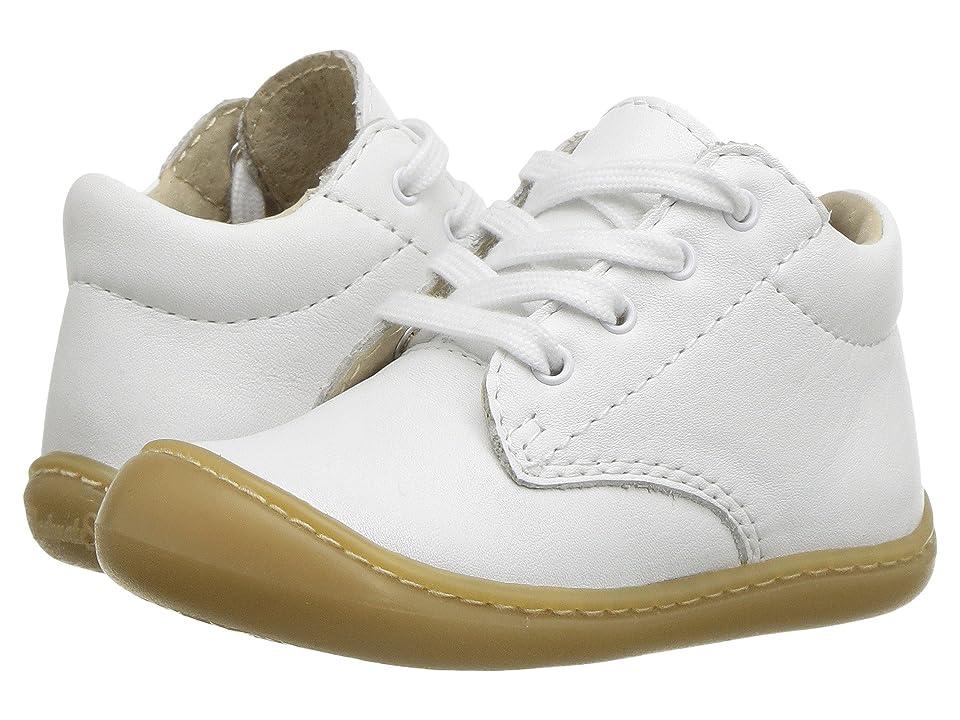 FootMates Reagan (Infant/Toddler) (White Nappa) Kids Shoes
