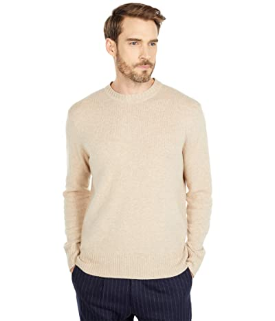 J.Crew Merino Nylon Crew (Heather Linen) Men
