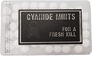Mini Credit Card Style Mints - Cyanide Mints
