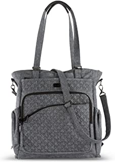 Lug Women's Ace 2 Convertible Travel Tote, Heather Grey, One Size