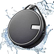 INSMY IPX7 Waterproof Shower Bluetooth Speaker, Portable Wireless Outdoor Speaker with HD..