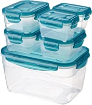 AmazonBasics 6pc Airtight Food Storage Set,Multicolour