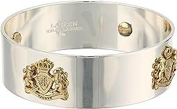 Crest Bangle Bracelet