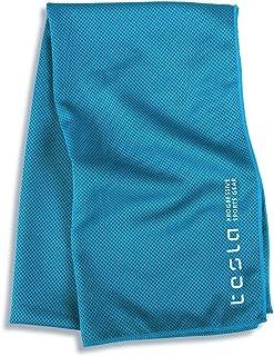 (テスラ)TESLA クールタオル 超冷感 スポーツタオル [UVカット・日焼け防止・速乾・軽量] 防水袋付き 冷却タオル スポーツ アウトドア 作業用 タオル