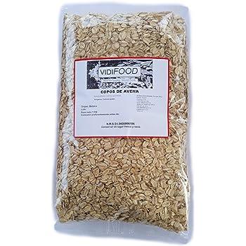 Prozis 100% Natural Whole Oat Flakes 1kg - Cereales Repletos de ...