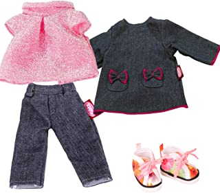gonna con motivo floreale-bambole mode MATTEL-Barbie Fashions-outfit completo