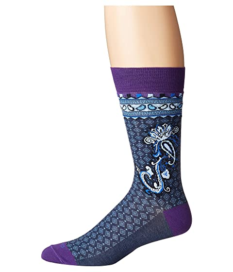 Etro Stripe/Paisley/Medallion Socks