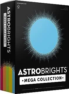 Astrobrights Mega Collection, 625 Sheets,