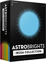"Astrobrights Mega Collection, Colored Cardstock,""Classic"" 5-Color Assortment, 320 Sheets, 65 lb/176 gsm, 8.5"" x 11"" - MORE..."