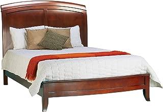 Modus Furniture Brighton Low Profile Sleigh Bed, Cinnamon, King