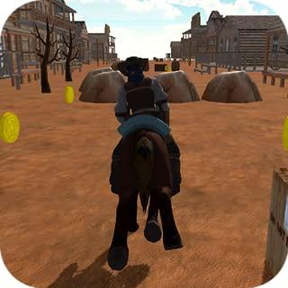 Western CowBoy Horse Run