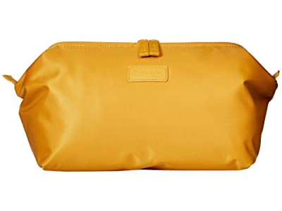 Lipault Paris Plume Accessories Toilet Kit (Mustard) Cosmetic Case