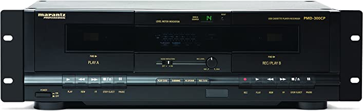 Marantz Professional PMD-300CP | Dual-Cassette Recorder/Player with USB