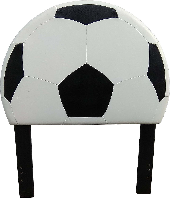 American Original Soccer Headboard, White, 45  x 54.5