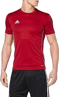 بلوزة تدريب كور 18 من قماش الجورسيه من اديداس للرجال، لون احمر (باور