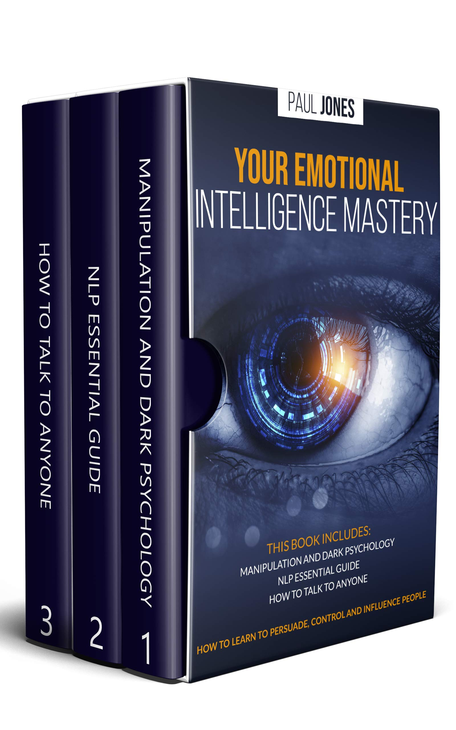 Your Emotional Intelligence Mastery: Manipulation And Dark Psychology, NLP Essential Guide, How To Talk To Anyone. How To ...