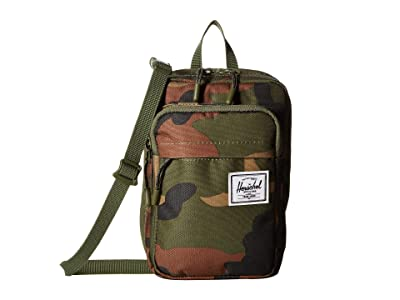 Herschel Supply Co. Form Crossbody Large (Woodland Camo) Cross Body Handbags