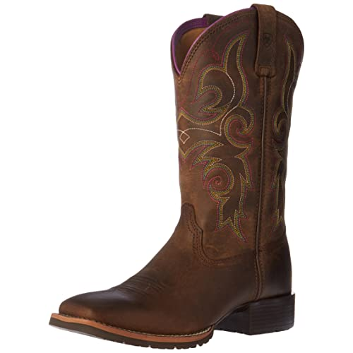 0c86a27384e Women's Square Toe Cowboy Boots: Amazon.com