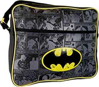 dc comic messenger bag