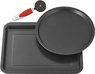BALLARINI Italy Pizza Pan Set, One Size, Black