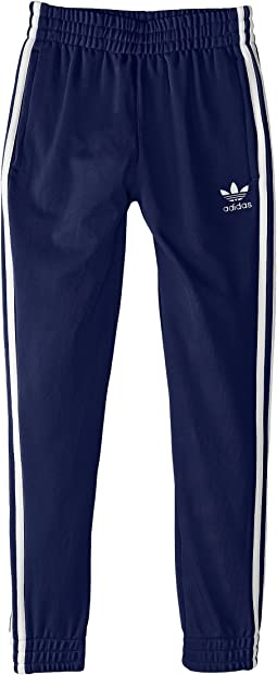 adidas Originals Kids Superstar Fitted Track Pants (Little Kids/Big Kids)