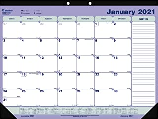 15 x 12 Blue Sky 2021 Monthly Wall Calendar Gold Twin-Wire Binding Sullana 116048-21