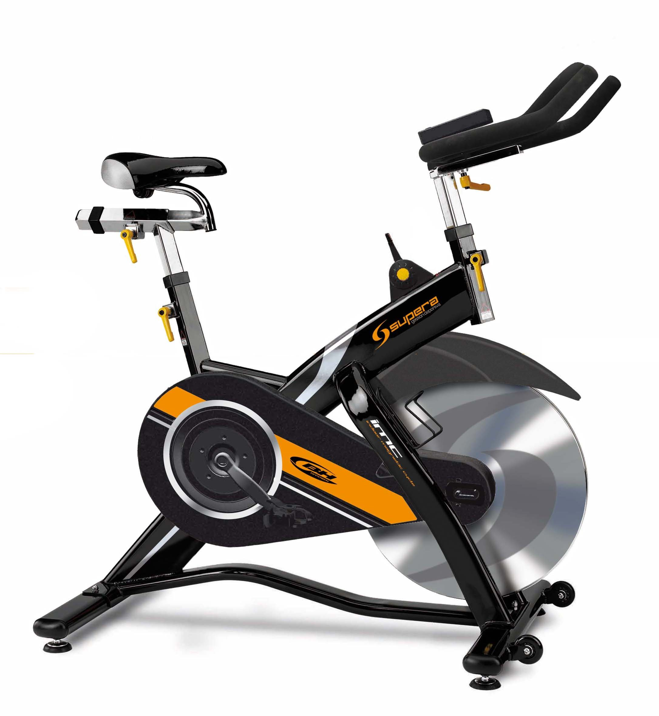 BH Fitness Supera h925s profesionelles Indoor Bike: Amazon.es ...