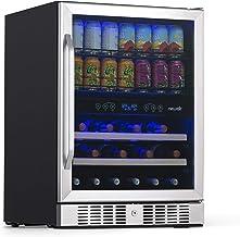 NewAir AWB-400DB Beverage Cooler, 22 Bottles & 70 Cans