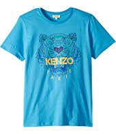 Kenzo Kids - Tiger Logo Tee (Big Kids)