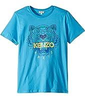 Kenzo Kids - Tiger Logo Tee (Big Kids)