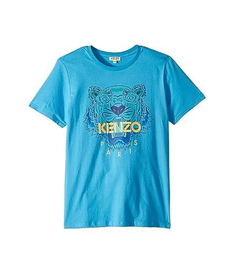 Kenzo Kids Tiger Logo Tee (Big Kids)