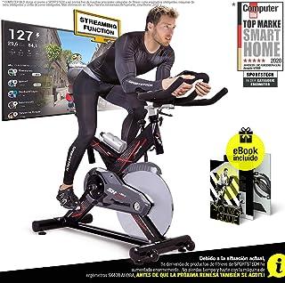 Sportstech Bicicleta estática Profesional SX400 - Marca de