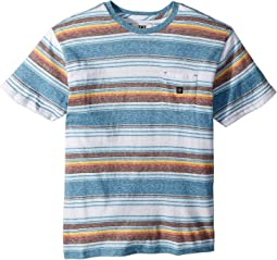VISSLA Kids Canggu Knit Top Short Sleeve (Big Kids)