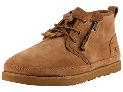 UGG Kids SINGLE SHOE Neumel Dual Zip Boot (Chestnut) Boys Shoes
