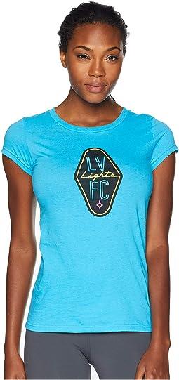 Las Vegas Lights FC Logo Tee